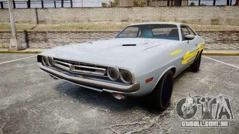 Dodge Challenger 1971 v2.2 PJ4 para GTA 4