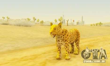 Leopard (Mammal) para GTA San Andreas