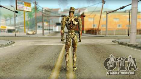 T900 (Terminator 3: war of the machines) para GTA San Andreas segunda tela