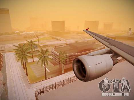 Airbus A320-214 TAM Airlines para as rodas de GTA San Andreas