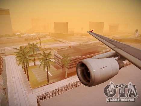 Airbus A320-214 TAM Airlines para as rodas de GTA San Andreas