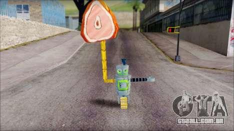 Hamsmp from Sponge Bob para GTA San Andreas terceira tela
