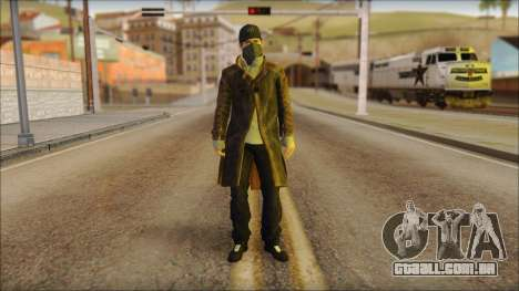 Aiden Pearce from Watch Dogs para GTA San Andreas