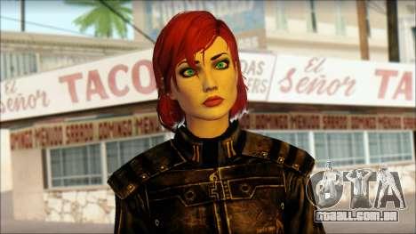 Mass Effect Anna Skin v5 para GTA San Andreas terceira tela