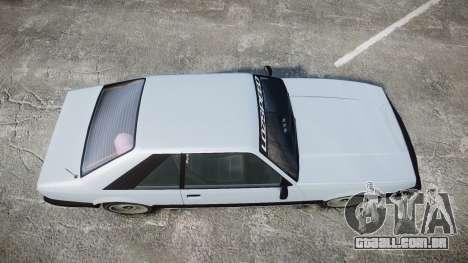 Vapid Uranus Facelift para GTA 4 vista direita