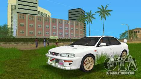 Subaru Impreza WRX STI GC8 Sedan Type 3 para GTA Vice City