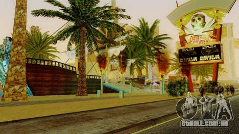 Novo navio pirata em Las Venturas para GTA San Andreas quinto tela