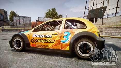 Zenden Cup Snap-On para GTA 4 esquerda vista