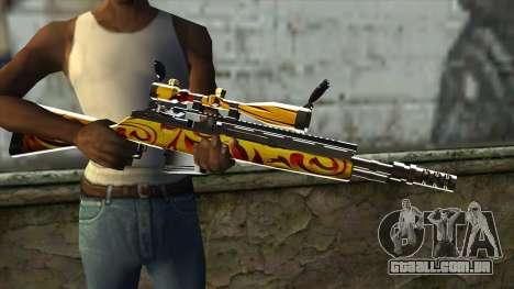 Nitro Sniper Rifle para GTA San Andreas terceira tela