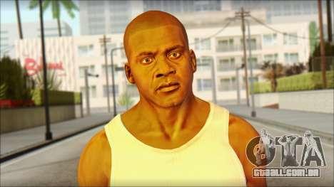 Franklin para GTA San Andreas terceira tela