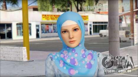 Gaza Tina Armstrong para GTA San Andreas terceira tela