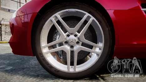 Mercedes-Benz SLS AMG [EPM] para GTA 4 vista de volta