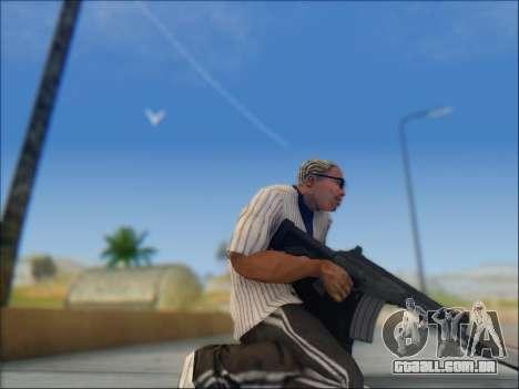 Israelenses carabina ÁS 21 para GTA San Andreas oitavo tela