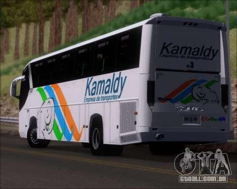 Comil Campione 3.45 Scania K420 Kamaldy para GTA San Andreas vista superior