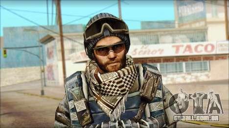 Veterano (M) v2 para GTA San Andreas terceira tela