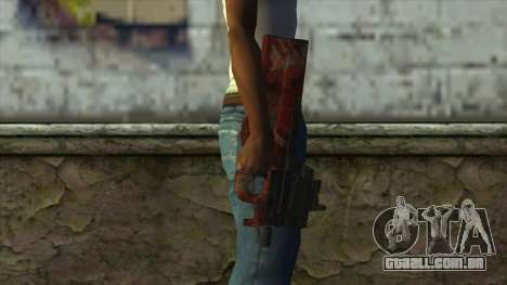 P90 from PointBlank v4 para GTA San Andreas terceira tela