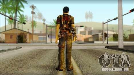 Wei Shen From Sleeping Dogs para GTA San Andreas segunda tela