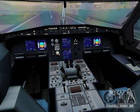 Airbus A330-300 Cathay Pacific para as rodas de GTA San Andreas