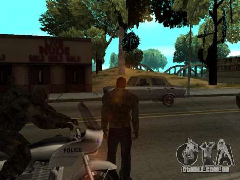 Calças de bandido de Stalker para GTA San Andreas terceira tela