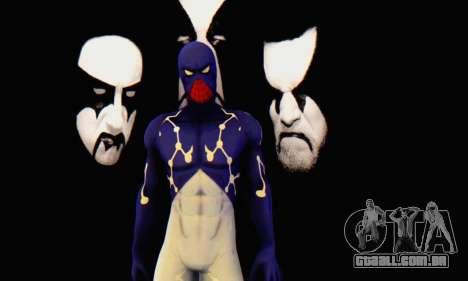 Skin The Amazing Spider Man 2 - Suit Cosmic para GTA San Andreas segunda tela