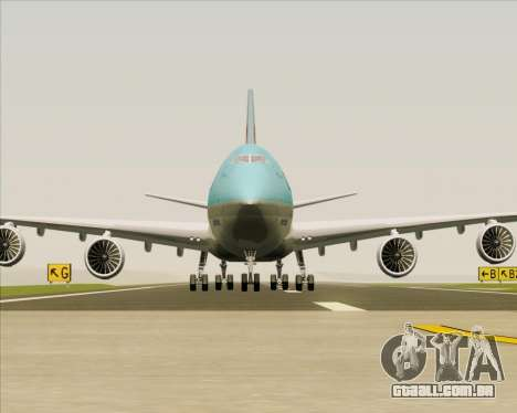 Boeing 747-8 Cargo Korean Air Cargo para GTA San Andreas