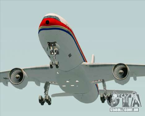Airbus A330-300 China Eastern Airlines para vista lateral GTA San Andreas