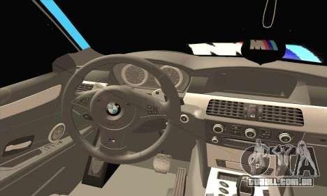 BMW 320i E46 para GTA San Andreas traseira esquerda vista
