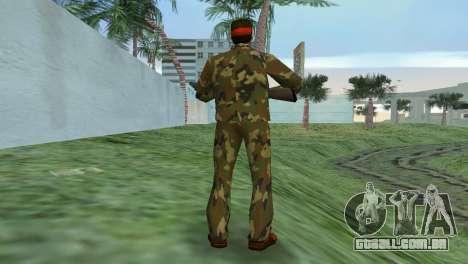 Camo Skin 02 para GTA Vice City terceira tela