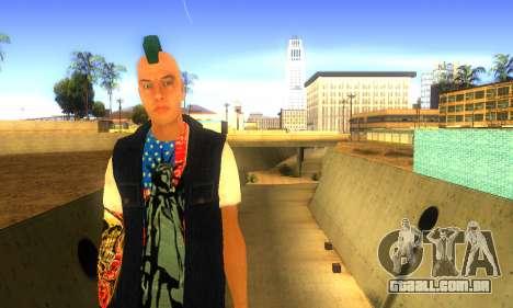 Punk v2 para GTA San Andreas segunda tela