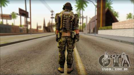 Engineer from BF4 para GTA San Andreas segunda tela