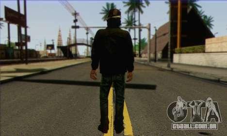 Kenny from The Walking Dead v3 para GTA San Andreas segunda tela