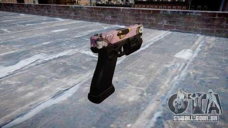 Pistola Glock de 20 kawaii para GTA 4 segundo screenshot