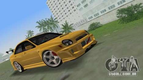Subaru Impreza WRX 2002 Type 5 para GTA Vice City