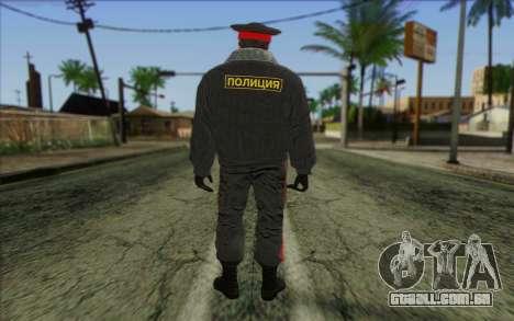 A Polícia Da Rússia Pele 1 para GTA San Andreas segunda tela