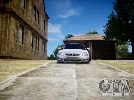 VAZ 2170 para GTA 4 traseira esquerda vista