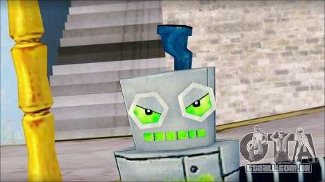 Hamsmp from Sponge Bob para GTA San Andreas por diante tela