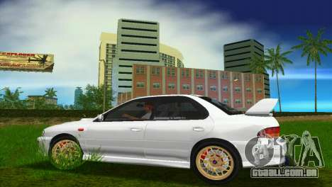 Subaru Impreza WRX STI GC8 Sedan Type 3 para GTA Vice City vista traseira