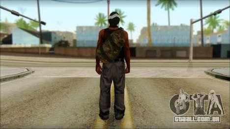 Rob v2 para GTA San Andreas segunda tela