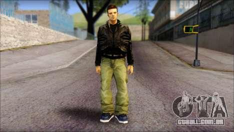 GTA 3 Claude Ped para GTA San Andreas