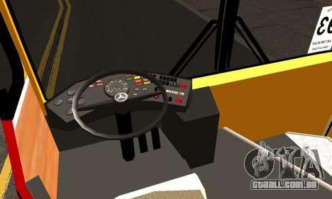 Mercedes-Benz O 305 para GTA San Andreas vista direita