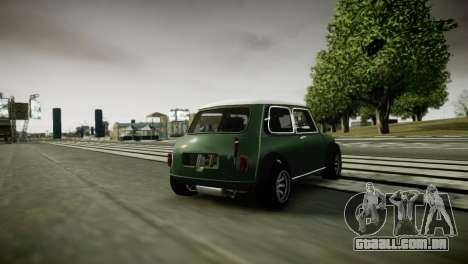 Mini Cooper RWD para GTA 4 vista direita