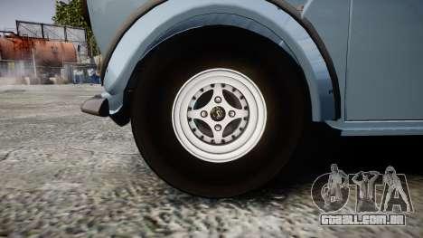 Mini Miglia [Updated] para GTA 4 vista de volta