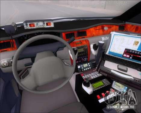 Chevrolet Impala 2006 Tallmage Batalion Chief 2 para GTA San Andreas traseira esquerda vista