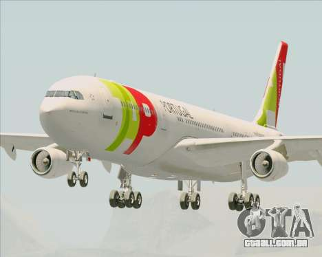 Airbus A340-312 TAP Portugal para GTA San Andreas