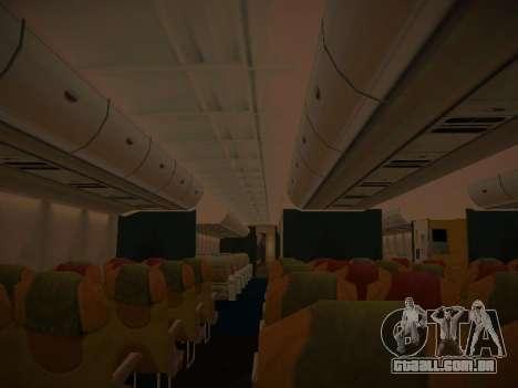Airbus A380-800 Lufthansa para as rodas de GTA San Andreas