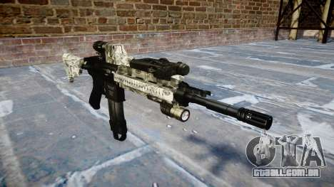 Automatic rifle Colt M4A1 benjamins para GTA 4