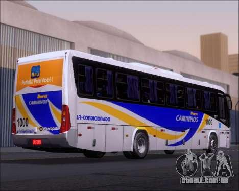 Marcopolo Ideale 770 - Volksbus 17-230 EOD para GTA San Andreas vista traseira