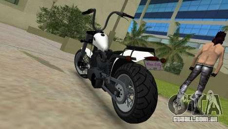 WMC Daemon para GTA Vice City vista traseira esquerda