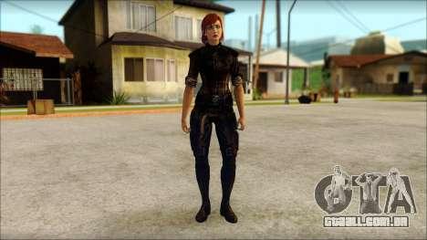 Mass Effect Anna Skin v9 para GTA San Andreas