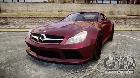 Mercedes-Benz SL 65 AMG Black Series para GTA 4